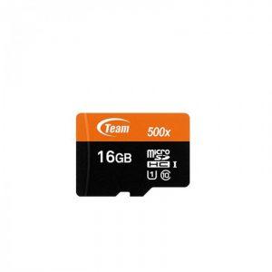 کارت حافظه تیم گروپ مدل Micro SDHC U1 500X ظرفیت ۱۶ گیگابایت