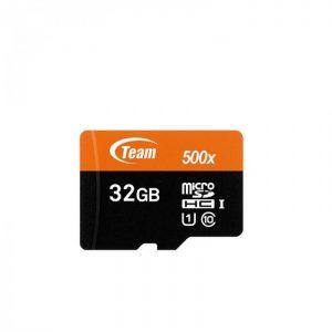 کارت حافظه تیم گروپ مدل Micro SDHC U1 500X ظرفیت ۳۲ گیگابایت