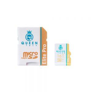 کارت حافظه کوئین تک مدل Micro SDHC U1 Elite Pro 566X ظرفیت ۱۶ گیگابایت