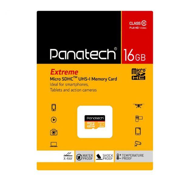 کارت حافظه پاناتک مدل Micro SDHC Extreme ظرفیت ۱۶ گیگابایت