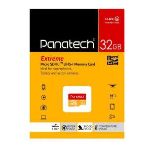 کارت حافظه پاناتک مدل Micro SDHC Extreme ظرفیت ۳۲ گیگابایت