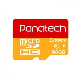 کارت حافظه پاناتک مدل Micro SDHC Extreme ظرفیت ۶۴ گیگابایت