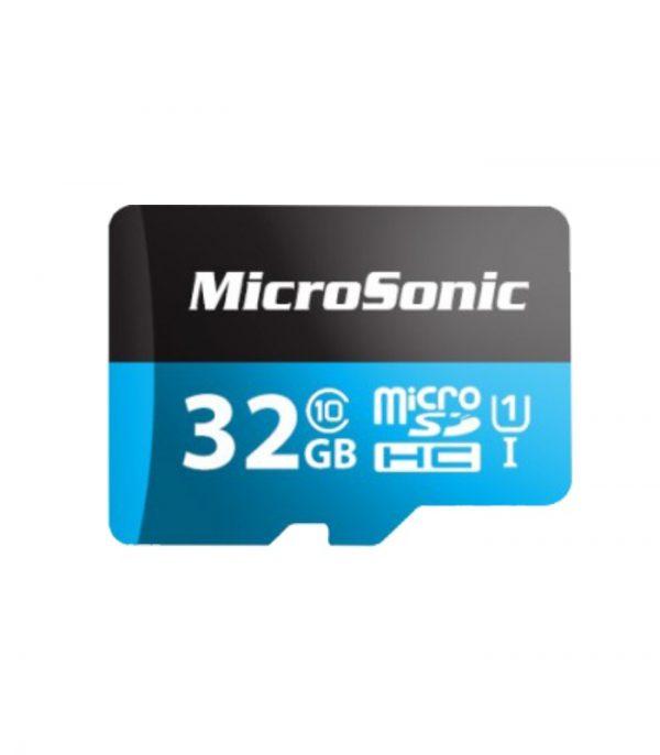 کارت حافظه میکروسونیک مدل Micro SDHC U1 ظرفیت 32 گیگابایت